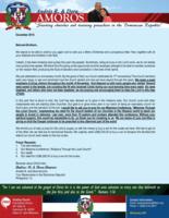 Andres Amoros Prayer letter: Church's 17th Anniversary