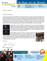 Brian George Prayer Letter:  Pastor Owens Back in Tucuman and New Jail Ministry
