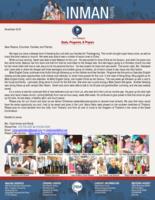 Chad Inman Prayer Letter: Souls, Programs, and Prayers