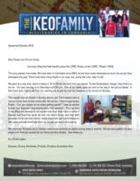 Kounaro Keo Prayer Letter:  Precious Couple Gets Saved!