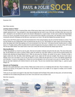 Paul Sock Prayer Letter:  Learning About Poland