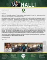Baraka Hall Prayer Letter:  New Outreach Ministry