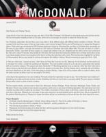 Corey McDonald Prayer Letter:  Keeping Christ in Christmas
