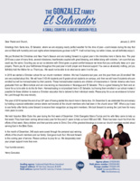 Henry Gonzalez Prayer Letter:  A Year in Review
