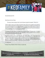 Kounaro Keo Prayer Letter:  Faithfulness