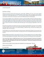 Andrew Steers Prayer Letter:  Little Is Much When God Is in It