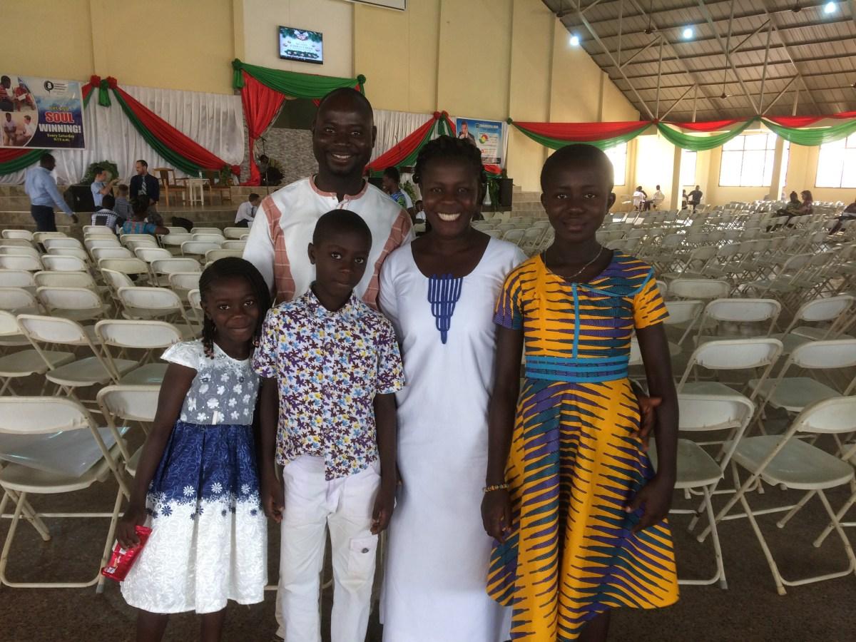 The Samson Badu family