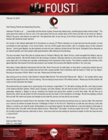 Zach Foust Prayer Letter:  Come Boldly to the Throne of Grace