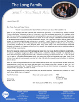Andrew Long Prayer Letter:  Great Start to the New Year!