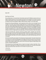 Charles Newton Prayer Letter:  I Understand Now!
