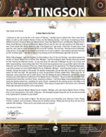 Garry Tingson Prayer Letter:  A Great Start to the Year!
