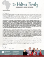 Mark Holmes Prayer Letter: Hosting Survey Trips