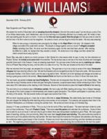 Chris Williams Prayer Letter:  A Trip to the Amazon!
