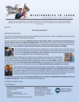 Go Oishi Prayer Letter: Our First Cross-Country Drive!