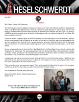 Brandon Heselschwerdt Prayer Letter:  Wonderful Missions Conferences