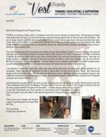 Charlie Vest Prayer Letter:  A Ministry of Helps
