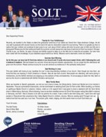 Dave Solt Prayer Letter:  Because of Your Faithfulness