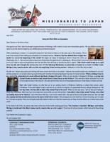Go Oishi Prayer Letter: Doing the Work While on Deputation