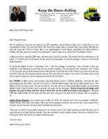 Warren Storm Prayer Letter:  What a Joy to See Bus Kids' Parents Trust Christ!
