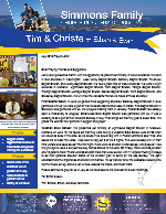 Tim Simmons Prayer Letter: A Very Productive Month!