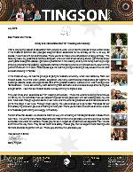 Garry Tingson Prayer Letter: Celebrating Our 10th Wedding Anniversary!
