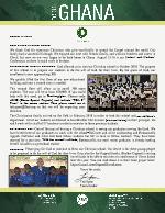 Team Ghana Update: Growth of Our Christian School