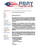 Jon Wrightson Prayer Letter:  Emergency Appendectomy