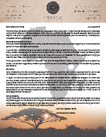 Montana Morrow Prayer Letter:  Being Blessed and Being a Blessing