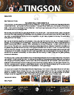 Garry Tingson Prayer Letter:  The Lord's Been Really Good to Us