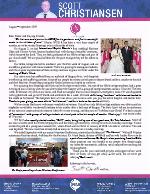 Scott Christiansen Prayer Letter: IBC's First Wedding