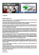 Juan Vallejo Prayer Letter:  A Special Visit to the States