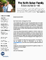 Keith Baker Prayer Letter:  Civil Unrest Continues in Haiti