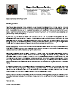 Warren Storm Prayer Letter: Answered Prayer