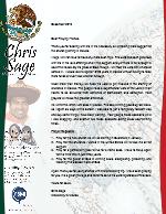 Christopher Sage Prayer Letter:  Back in Mexico