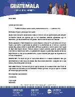 Angel Lopez Prayer Letter:  New Bible Club Starting