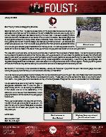 Zach Foust Prayer Letter:  Back Home Again!