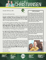 Micah Christiansen Prayer Letter: Growing With the New Year