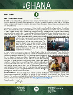 Team Ghana Update: Fruit from Our Information Center Ministry