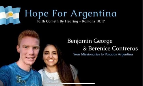 FBMI Missionary Brian George Prayer Letter Picture