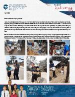 Osmin Gutierrez Prayer Letter: Raising Money, Buying Food, Giving It Away