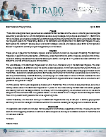 Roberto Tirado Prayer Letter: God Has Truly Been Good to Us!