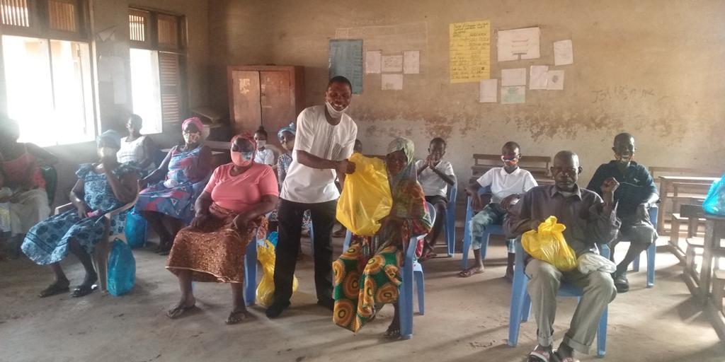 community rice distribution