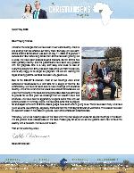Caleb Christiansen Prayer Letter: Our Little Girl Has Arrived!