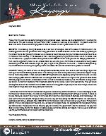 Mshama Kinyonga Prayer Letter:  God Is Still Working--In Spite of COVID-19!