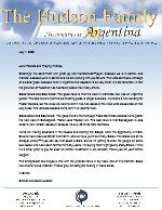 Simeon Hudson Prayer Letter: Going Forward!