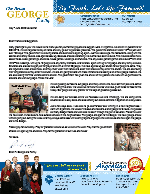 Brian George Prayer Letter: Thank You for Your Faithful Prayers and Support