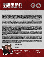 Brian Hebert Prayer Letter: Out of Quarantine