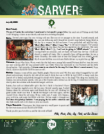 Mike Sarver Prayer Letter: Miraculously Spared