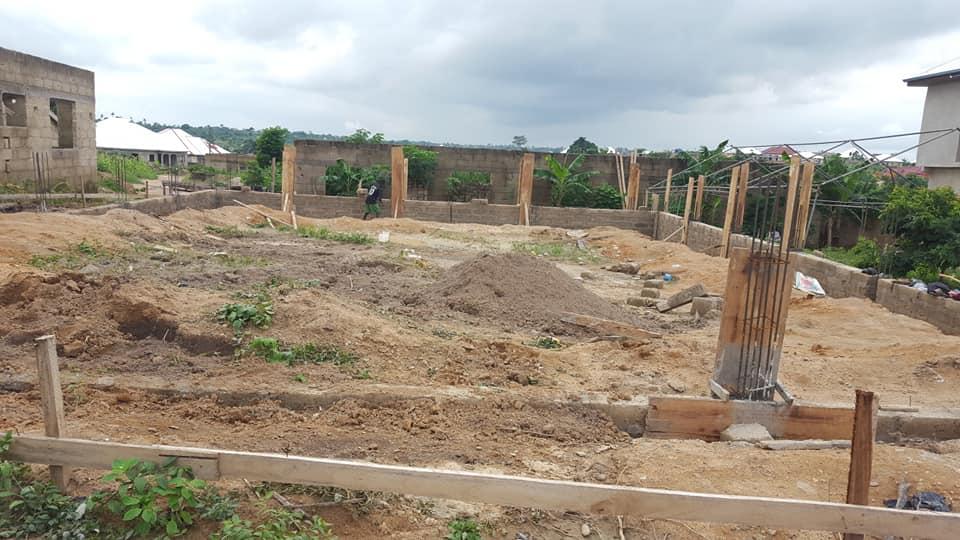 church building progress