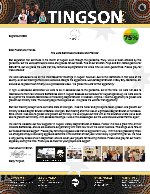 Garry Tingson Prayer Letter: The Lord Continues to Bless and Provide!
